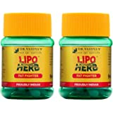 Dr. Vaidya's New Age Ayurveda | Lipoherb | Ayurvedic Pills For Obesity and Hyper Cholesterol | 30 Capsules (Pack of 2)