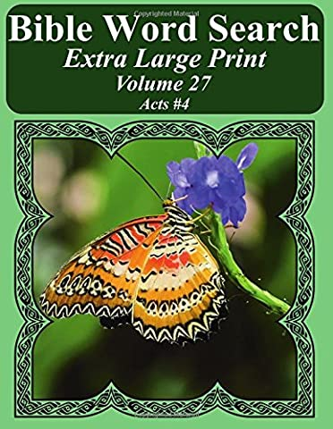Bible Word Search Extra Large Print Volume 27: Acts #4