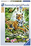 Ravensburger Erwachsenenpuzzle 14742 Tiger Im Urwald