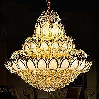 BBSLT Loto d'Oro del lampadario di Cristallo nell'atrio dell'Hotel Villa lussuosa Sala Grande lampadario di lusso lungo le scale dell'atmosfera.