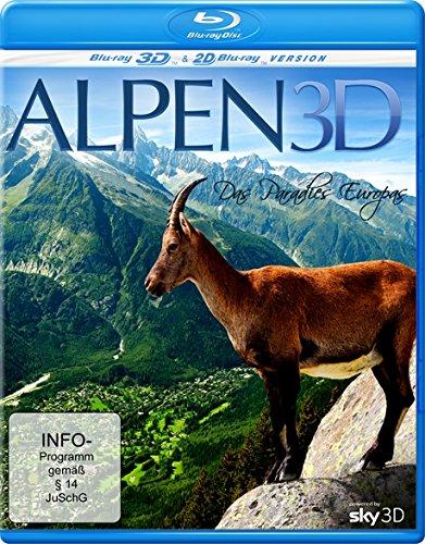 Alpen - Das Paradies Europas (inkl. 2D-Version) [3D Blu-ray]
