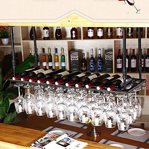 BinLZ Weinregale Europa America Bar Umgedrehtes Familienheim Kreativ Einzigartig Hoch, um Jeden Raum zu Erfüllen, 100cm*35cm -