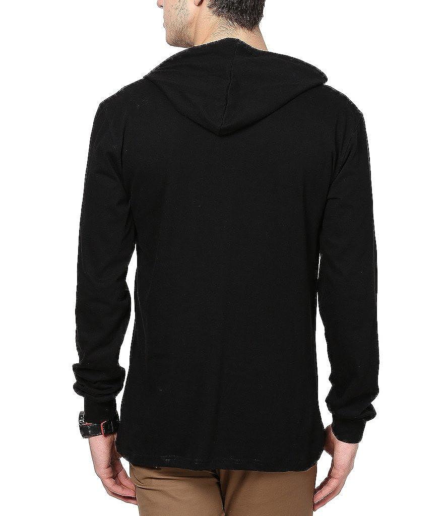 Inkovy Full sleeve Men's cotton Hooded T-shirt: Amazon.in ...