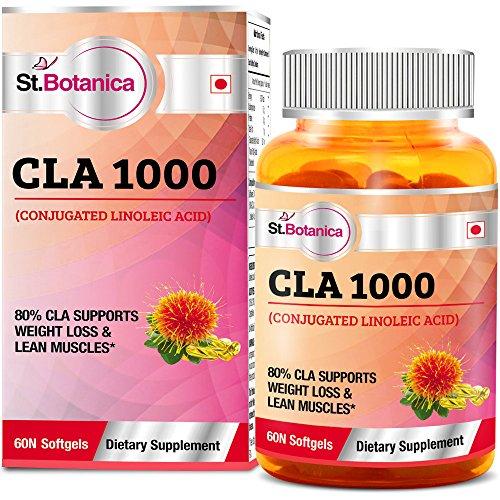 St.Botanica CLA 1000 (Conjugated Linoleic Acid) 60 Softgels