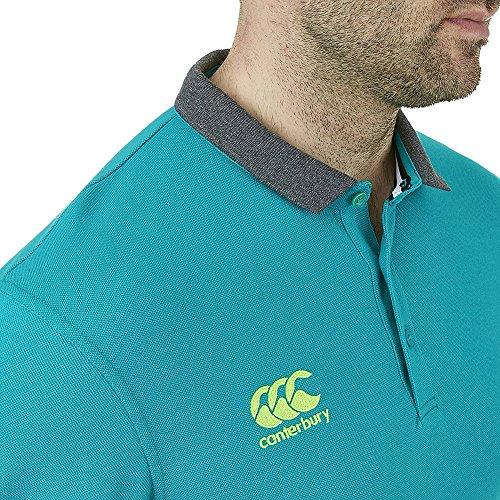 CCC Plain Off Field Polo Shirt Blue