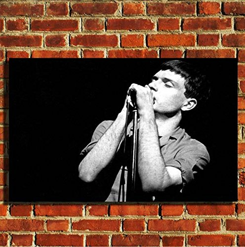 Joy Division Ian Curtis Leinwand Wand Kunstdruck Bild Poster Kleine Medium Large, 20