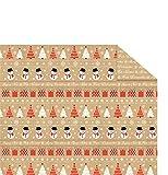 Ursus 11824603 - Fotokarton Christmas Time Weihnachten, DIN A4, 300 g/qm, 10 Blatt