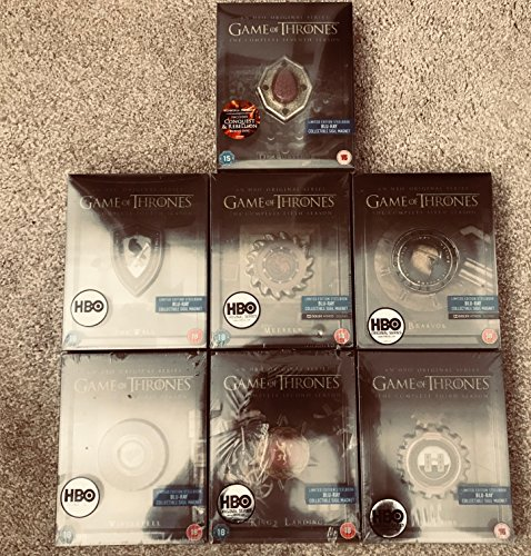 Game Of Thrones Season 1 7 Steelbook Full Collection Uk Limited Edition Blu Ray Conquest Rebellion Region Free Buy Online In Belize At Belize Desertcart Com Productid 63859117