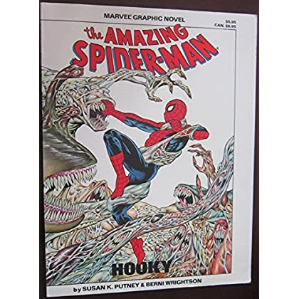 The amazing Spider-Man in Hooky