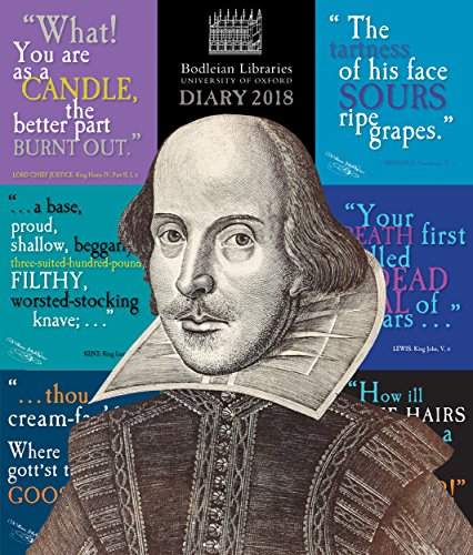 Bodleian Library - Shakespeare's insults Desk Diary 2018 por William Shakespeare