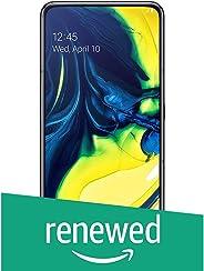 (Renewed) Samsung Galaxy A80 (Phantom Black, 8GB RAM, 128GB Storage) with No Cost EMI/Additional Exchange Offers