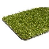 Reststück Kunstrasen Hochflor Madeira Grün | 0,50x2,00 m