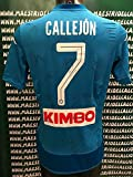 "Napoli Maglia Gara Home Callejon 7"" Autografata S.S.C 2017/2018"
