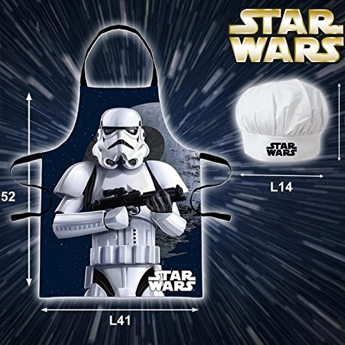 Unbekannt Beta Service EL51195 Star Wars Chef Set