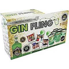 Idea Regalo - Gin Fling Ping Pong Adult Bere Gioco Xmas Anno Nuovo Hen Stag Party Shot Pong