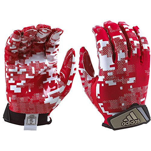 adidas FilthyQuick Digital Receiver American Football Handschuh, royal-blau