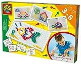 SES creative 14848 - Ich lerne Mosaike Steckspiel, gelb