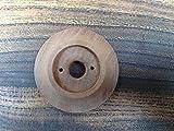Hard Rückseite aus Holz Teller (60mm Durchmesser) für viktorianischen/Edwardian Türen