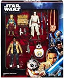 Hasbro B6815 Star Wars Jedi - Takodana Encounter 4 Action Figure Playset - Rey Finn Maz Kanata BB-8