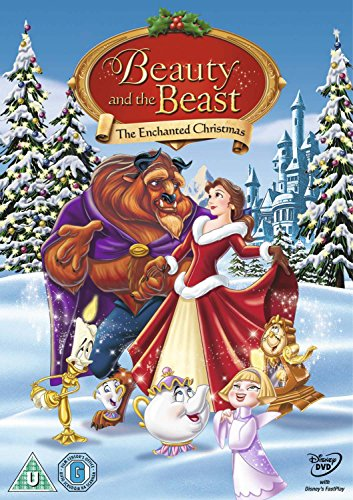 beauty the beast the enchanted christmas dvd by walt disney studios home entertainment - A Walt Disney Christmas Dvd