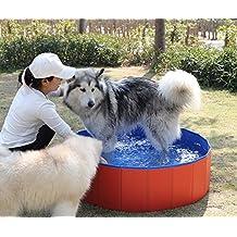 Bañera portátil y plegable para mascotas, hecha de PVC, ...