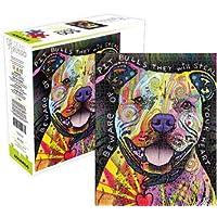 Aquarius Dean Russo cuidado con pit bull como Jigsaw Puzzle (500piezas) - Comparador de precios