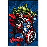 STAR Licensing Marvel Avengers Decke, Polyester, mehrfarbig, cm. 100x 150/GR. 200zum QM