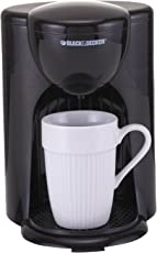 Black+Decker DCM25-IN 330-Watt 1-Cup Coffee Maker