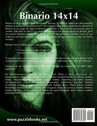 Binario 14x14 - Medio - Volumen 9 - 276 Puzzles: Volume 9