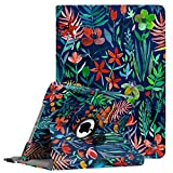 KolorFish Printed PU Leather Flip Case Cover for Apple iPad 9.7 inch 2018/2017