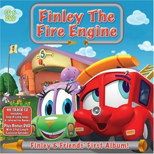 Finley and Friends' First Album (+ DVD) By Finley The Fire Engine (2011-04-04)