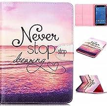 """Carcasa para 7'' pulgadas Tablet,Ultra Slim Funda de Cuero Case Cover para Alldaymall A88X Tablet de 7'' Pulgadas/Dragon Touch Y88X Plus Tablet de 7 Pulgadas/ASUS Nexus 7 (2013) Tablet de 7 """"Pulgadas/WeVool EOS BLUE - Tablet 7"""" Pulgadas/Yuntab Q88 A33 Tablet de 7"""" Pulgadas/iRULU X1S Tablet de 7 pulgadas/Yuntab Q88 A33 Tablet de 7"""" Pulgadas/Yuntab C71-8G Tablet de 7"""" Pulgadasi/Rulu eXpro X1S Tablet de 7"""" Pulgadas Funda Carcasa Piel con Soporte"""