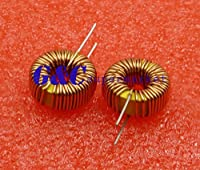 Tradico® 50PCS Toroid Core Inductors Wire Wind Wound for DIY mah-100uH 6A Coil