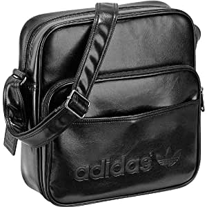 Adidas sir bag sac bandoulière adicolor a/noir 30 x 28 x 11 cm, 12.4 z37923 l
