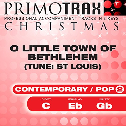 O Little Town of Bethlehem (St Louis - Vocal Demonstration)