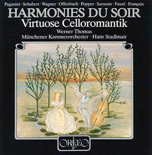 Harmonies du Soir. Musique Romantique pour violoncelle. Thomas-Mifune, Stadlmair.