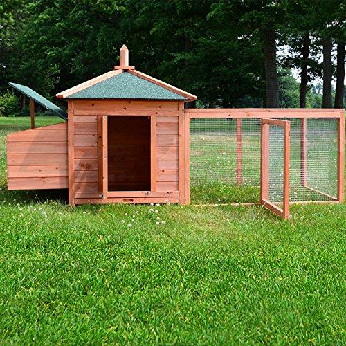 Zooprimus Hühnerstall 39 Geflügelhaus – OREO – Stall für Außenbereich (für Kleintiere: Hühner, Geflügel, Vögel, Enten usw.) - 4