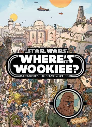 imusti Star Wars: Wheres the Wookiee? Search and Find Book