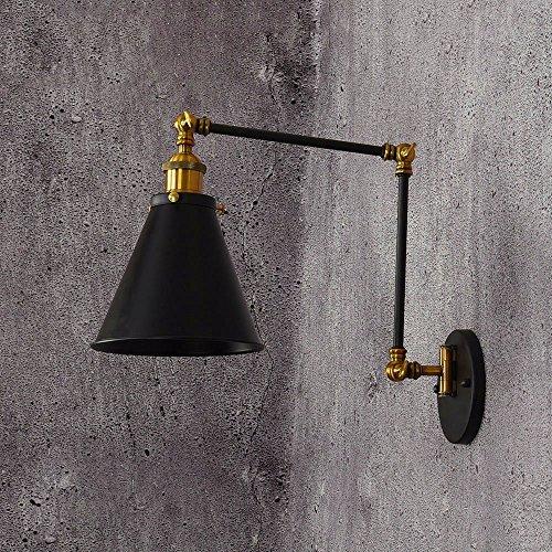 Schlafzimmer Bett lange Arm Lampe Cafe Restaurant auf und ab Rocker Eisen Kunst LED Wandleuchte