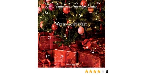 Weihnachtsfest Der Audiobuch Adventskalender Horbuch Download Amazon De Anna Thalbach Christian Berkel Div Audiobuch Verlag Ohg Audible Audiobooks