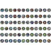 Yo-Kai - Gioco Medal Blind Bag 3 pezzi in ogni busta x orologio yo kai 3 medaglie in ogni confezione Inserisci la medaglia per udire canto e nome del personaggio Fai la scansione e vedrai il personaggio prendere vita nella App Yo-kai