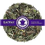 "Núm. 1104: Té blanco""Pai Mu Tan mediterráneo"" - hojas sueltas - 100 g - GAIWAN® GERMANY - té blanco de China, cártamo (alazor), caléndula"