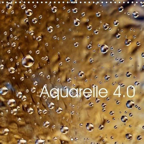 Aquarelle 4.0 2018: Gouttes D'eau Naturelle Dans La Lumiere Et En Couleurs par Nihat Uysal