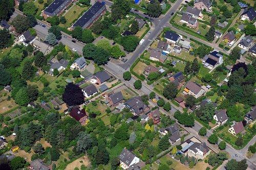 MF Matthias Friedel - Luftbildfotografie Luftbild von Halstenbeker Straße in Schnelsen (Hamburg), aufgenommen am 05.06.08 um 12:05 Uhr, Bildnummer: 5116-05, Auflösung: 4288x2848px = 12MP - Fotoabzug 50x75cm