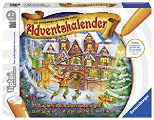 tiptoi® Adventskalender: 24 Türchen voller Überraschungen zum Spielen, Zuhören, Basteln, Mitsingen, ...