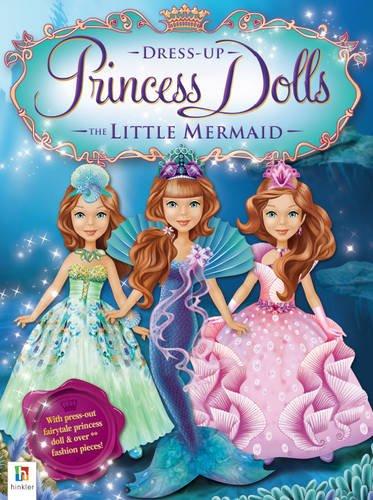 Little Mermaid Princess Dress Up Dolls -