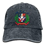 U-Only Dominican Republic Denim Hat Adjustable Womens Fitted Baseball Hats
