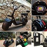 Moto Eléctrica URBET 2000W y batería de litio extraible 60V/20aH (Citycoco)
