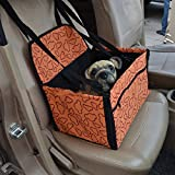 Car Dog Cage Car Front Seat Dog Cage Pet Cage Convenient Carrying Dog Cage,Yellow