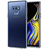 Galaxy Note 9 Case, Spigen Liquid Crystal with Slim Protection Crystal Clear